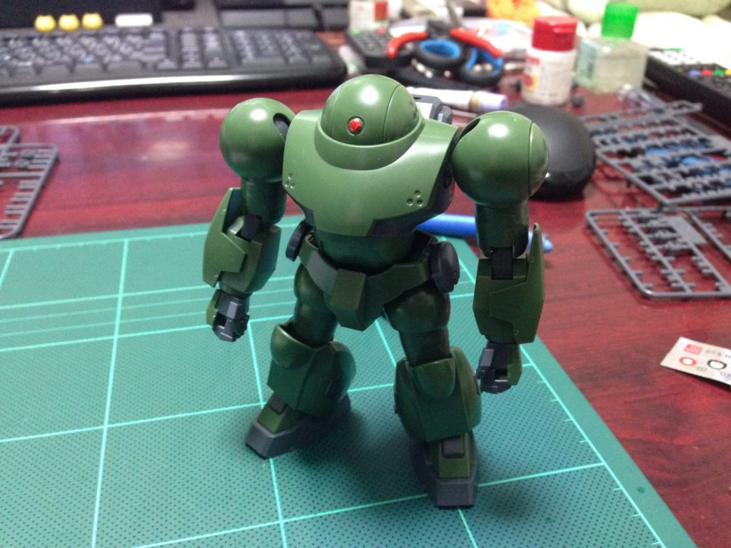 HGBF 1/144 ハイモック 正面