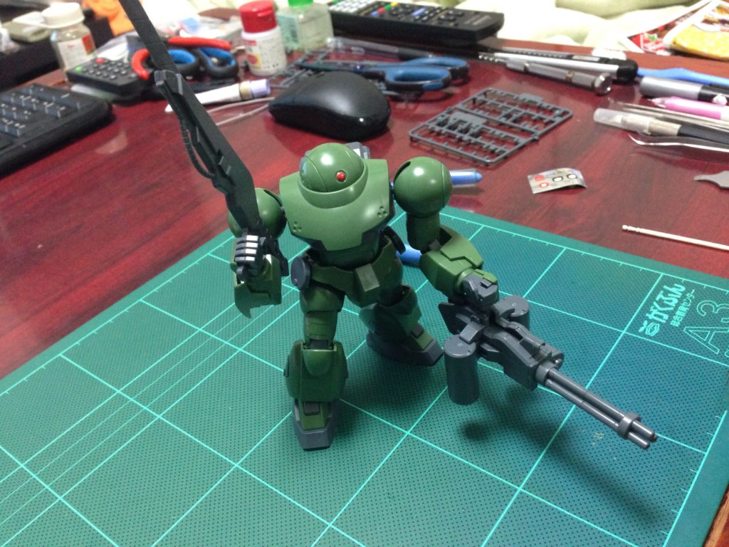 HGBF 1/144 モックアーミーセット [Mock Army Set] 正面