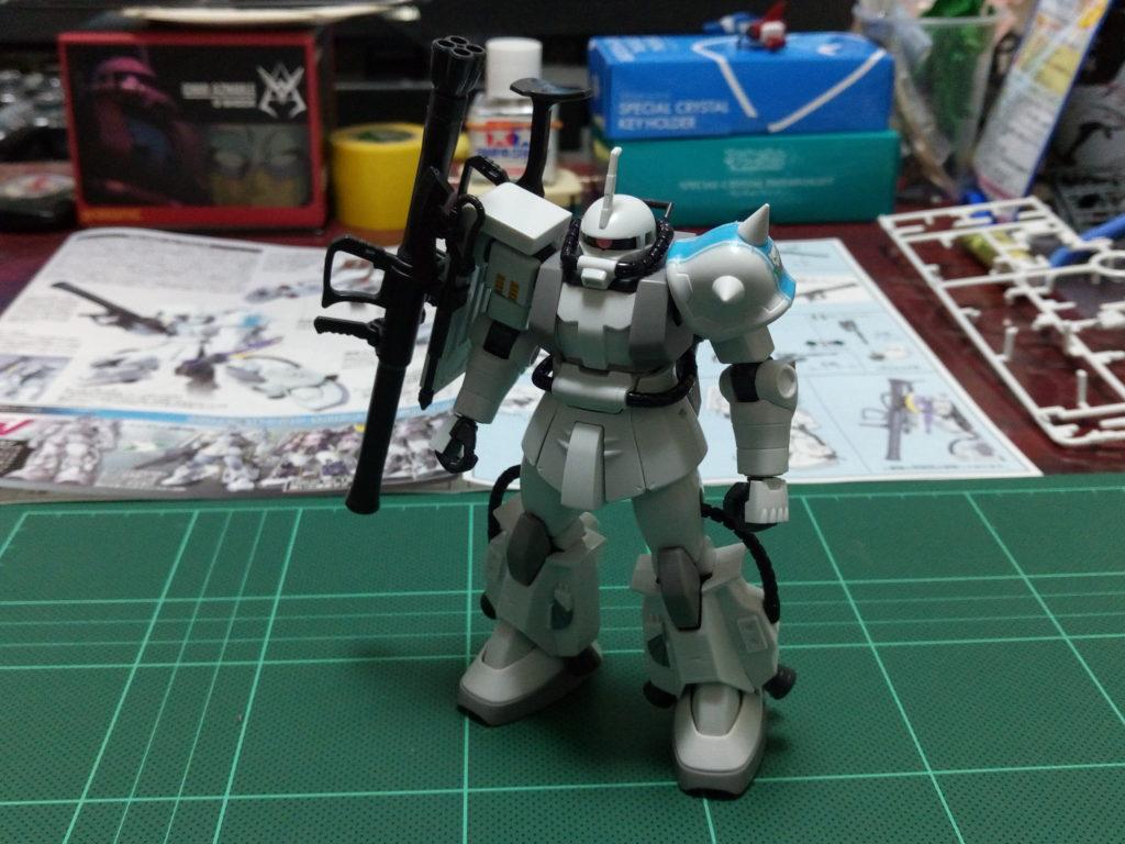 HGUC 1/144 MS-06R-1A シン・マツナガ専用ザクII [Zaku II (Shin Matsunaga Custom)] 正面