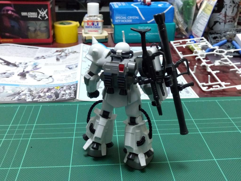 HGUC 1/144 MS-06R-1A シン・マツナガ専用ザクII [Zaku II (Shin Matsunaga Custom)] 背面