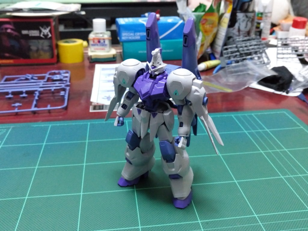 HG 1/144 MSオプションセット4&ユニオンモビルワーカー [Mobile Suit Option Set 4 & Union Mobile Worker] 正面