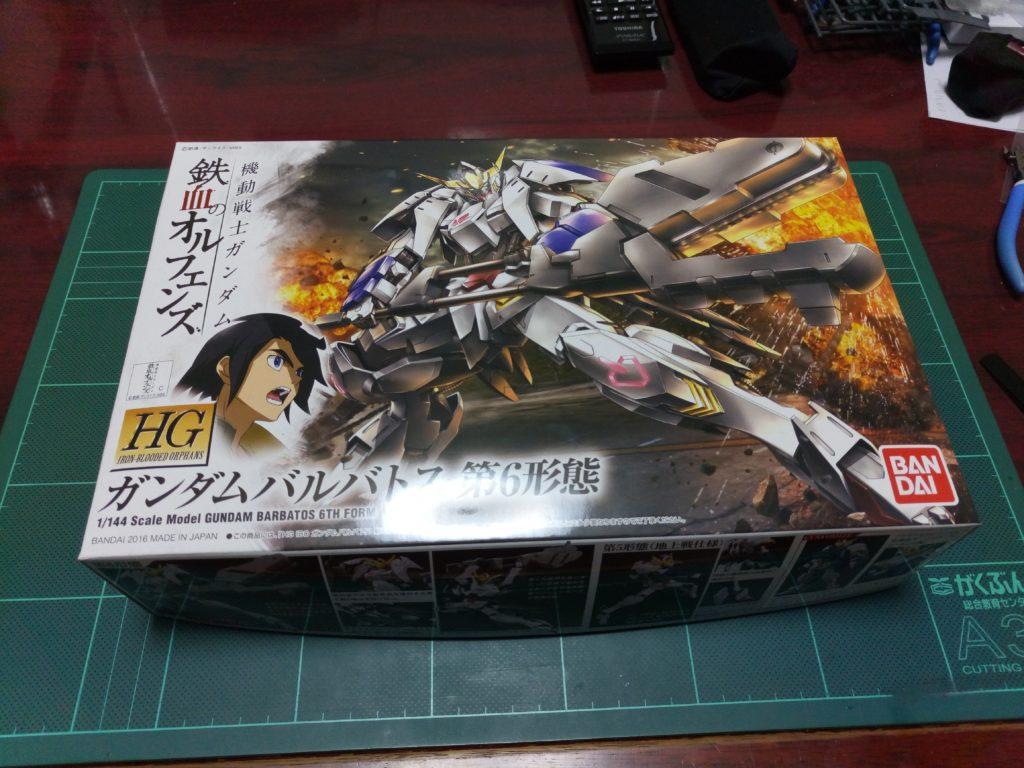 HG 1/144 ASW-G-08 ガンダムバルバトス(第6形態) [Gundam Barbatos 6th Form] パッケージ