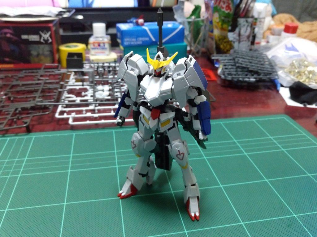 HG 1/144 ASW-G-08 ガンダムバルバトス(第6形態) [Gundam Barbatos 6th Form] 正面