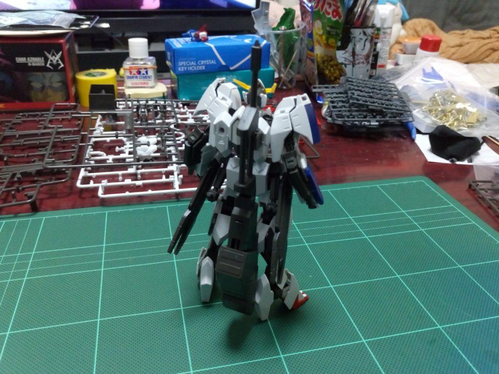 HG 1/144 ASW-G-08 ガンダムバルバトス(第6形態) [Gundam Barbatos 6th Form] 背面