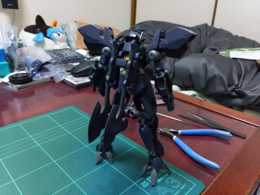 HG 1/144 EB-AX2 グレイズアイン 背面