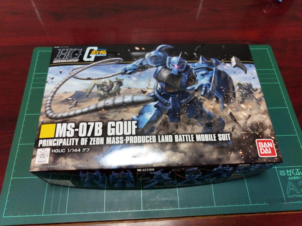 HGUC 1/144 REVIVE MS-07B グフ パッケージ