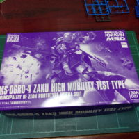 HG 1/144 MS-06RD-4 高機動試作型ザク [Zaku High Mobility Test Type] [TheORIGIN]