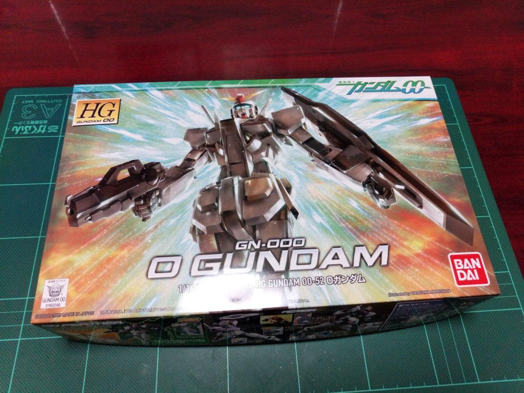 HG 1/144 GN-000 オーガンダム [0 Gundam] パッケージ