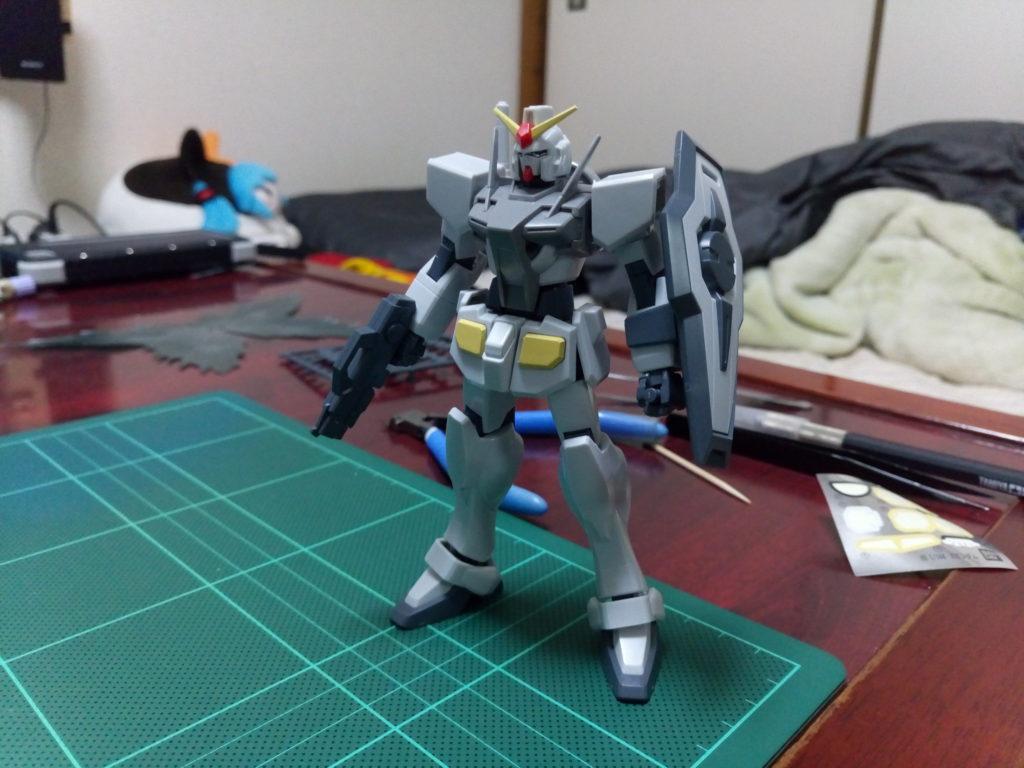 HG 1/144 GN-000 オーガンダム [0 Gundam] 正面