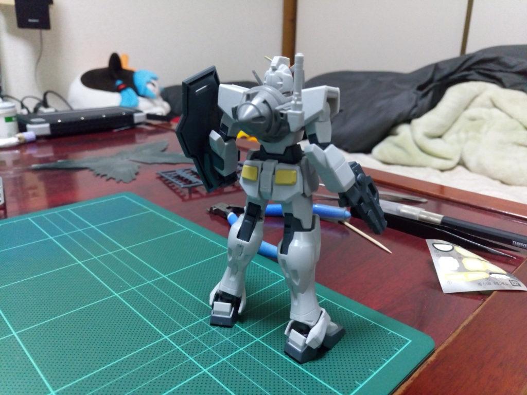 HG 1/144 GN-000 オーガンダム [0 Gundam] 背面