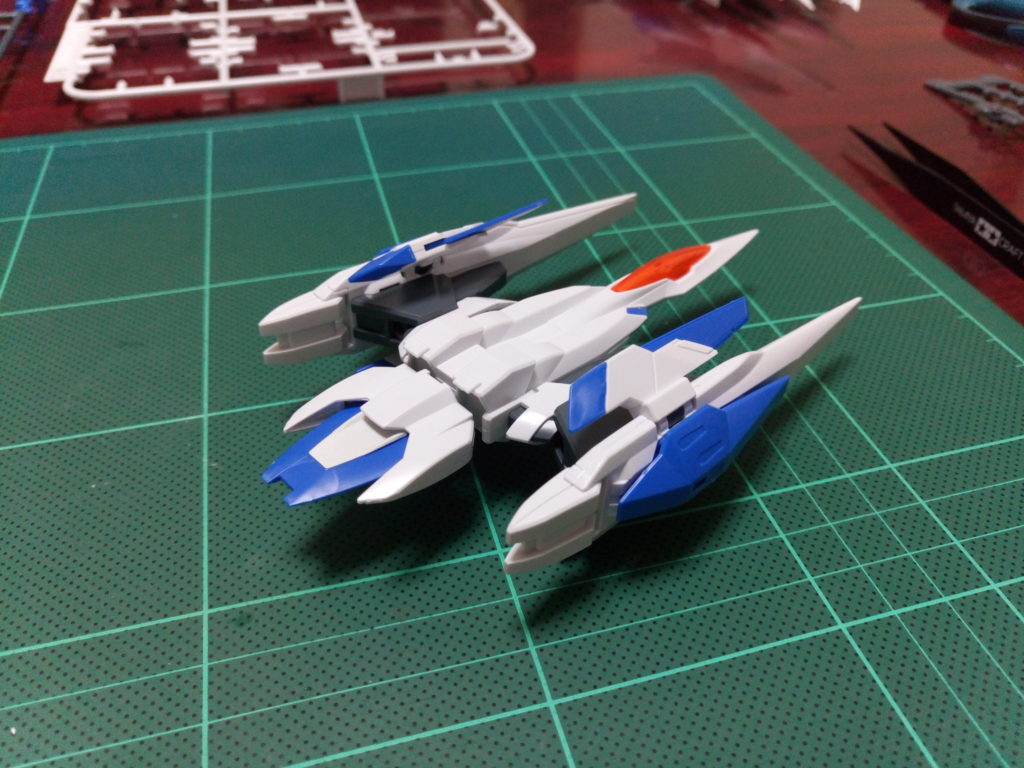 HG 1/144 GNR-010 オーライザー 背面