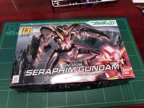 HG 1/144 GN-009 セラフィムガンダム