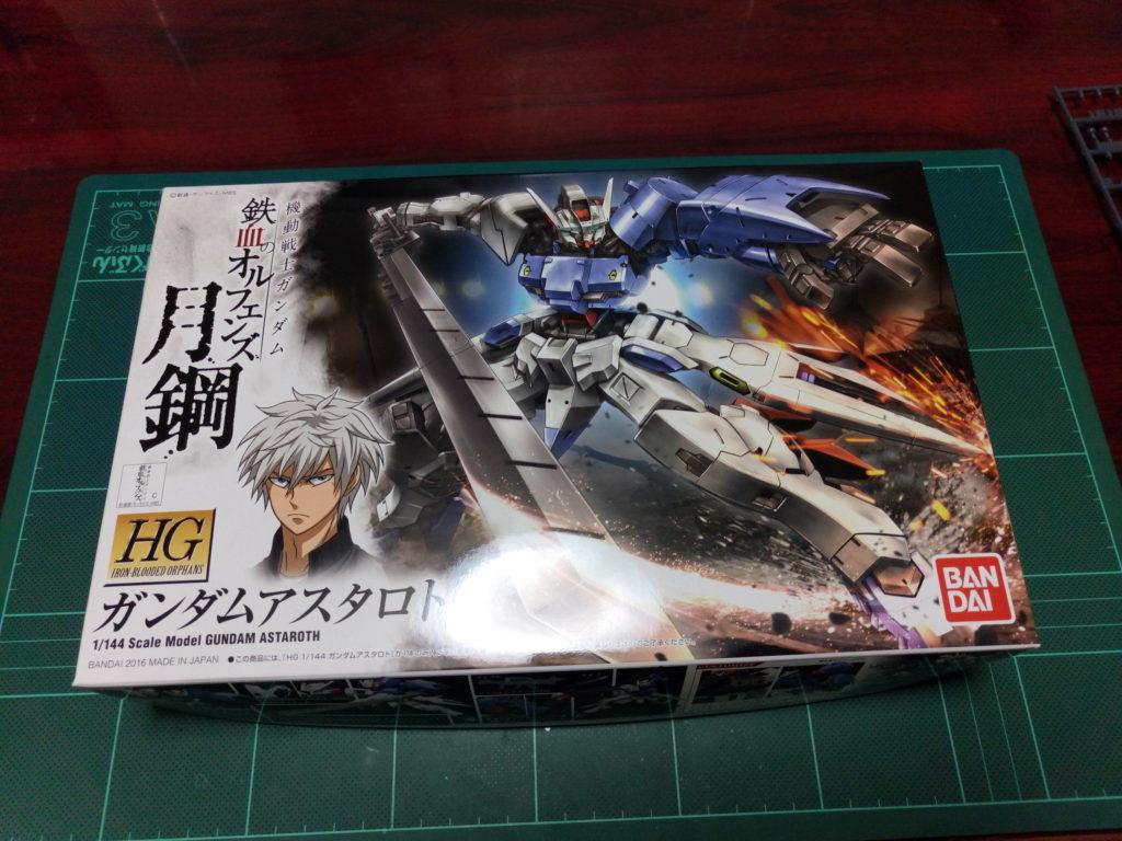 HG 1/144 ASW-G-29 ガンダムアスタロト [Gundam Astaroth] パッケージ