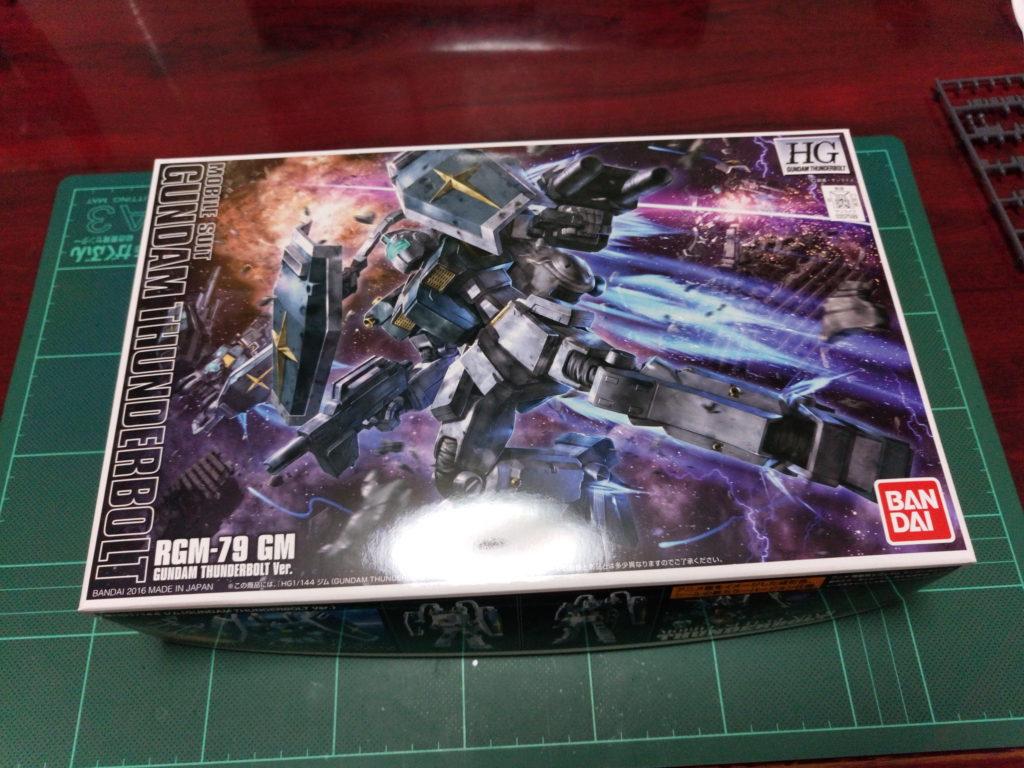 HGTB 1/144 RGM-79 ジム(GUNDAM THUNDERBOLT Ver.) [GM (Gundam Thunderbolt ONA Ver.)] パッケージ