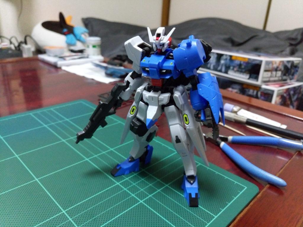 HG 1/144 ASW-G-29 ガンダムアスタロト [Gundam Astaroth] 正面