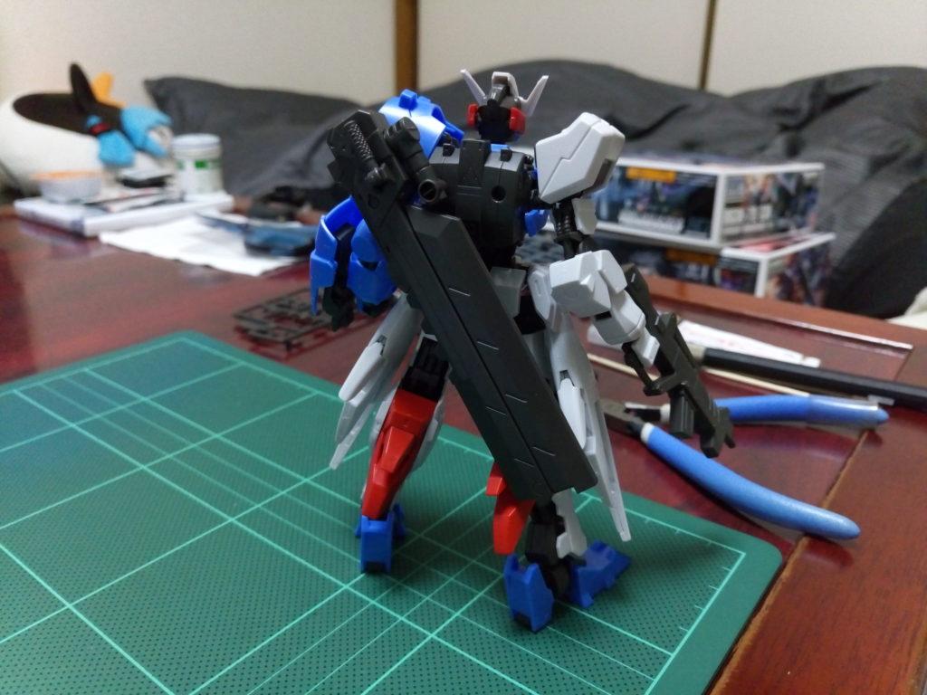 HG 1/144 ASW-G-29 ガンダムアスタロト [Gundam Astaroth] 背面