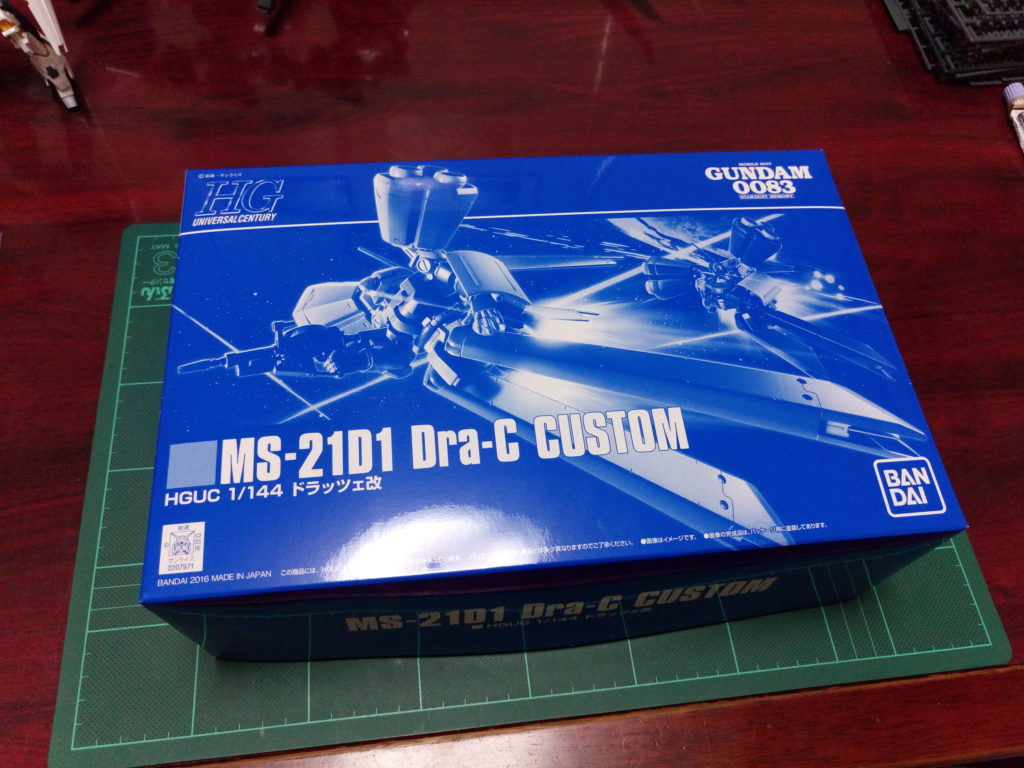 HGUC 1/144 MS-21D1 ドラッツェ改 パッケージ