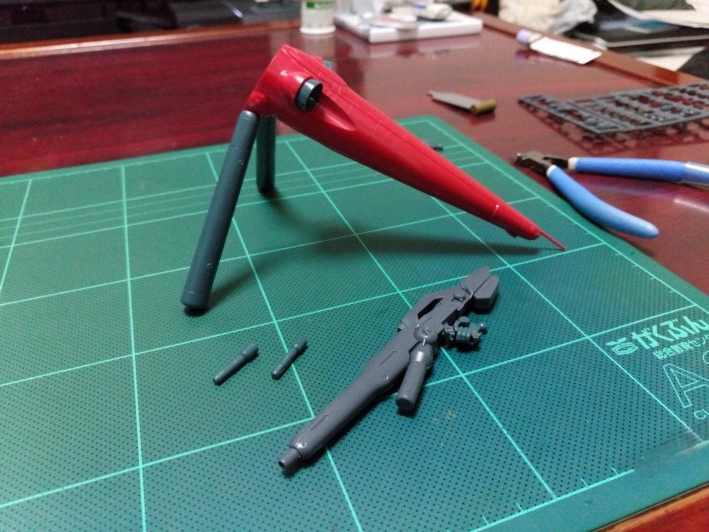 HGUC 1/144 AGX-04 ガーベラ・テトラ(ロールアウトVer.) セット内容
