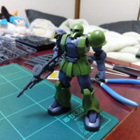 HG 1/144 MS-05 ザクI(デニム/スレンダー機) [TheORIGIN] [Zaku I (Denim/Slender Unit)]