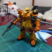 """HGTB 1/144 MS-05 ザクI""""旧ザク""""(GUNDAM THUNDERBOLT Ver.) [Zaku I (Gundam Thunderbolt ONA Ver.)]"""