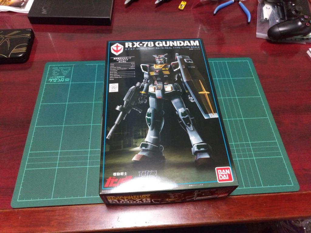HGUC 1/144 RX-78 ガンダム(21stCENTURY REALTYPE Ver.) [Gundam (21st Century Real Type Ver.)] パッケージ