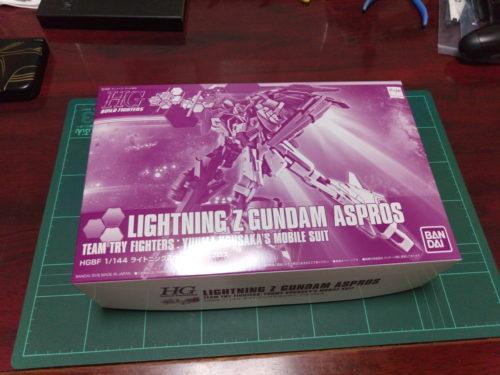 HGBF 1/144 MSZ-006LGT-3 ライトニングZガンダム アスプロス [Lightning Zeta Gundam Aspros]
