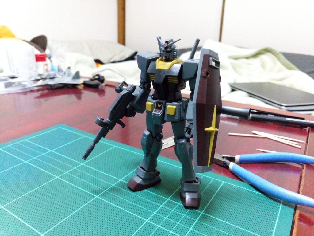 HGUC 1/144 ガンダム(21stCENTURY REALTYPE Ver.) 正面