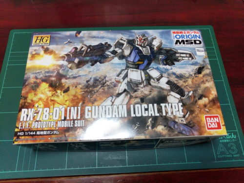 HG 1/144 RX-78-01[N] 局地型ガンダム [Gundam Local Type] [TheORIGIN]
