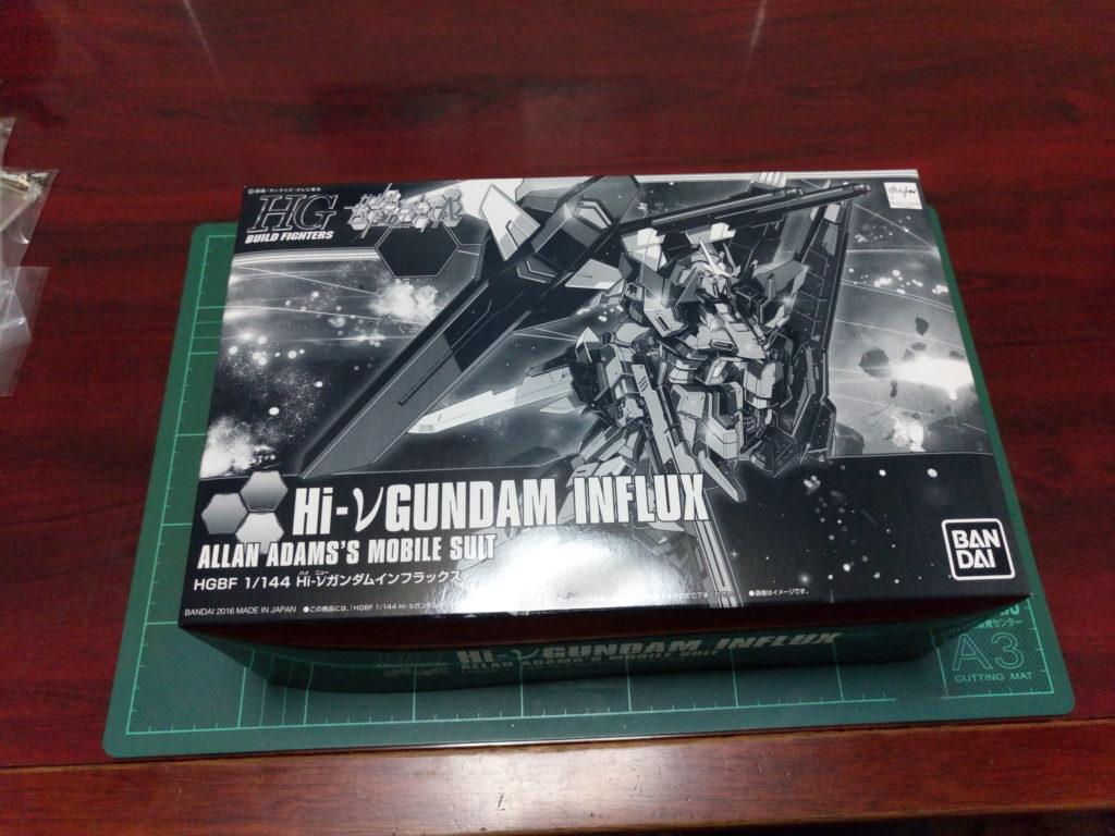 HGBF 1/144 RX-93ν-2I Hi-νガンダムインフラックス [Hi-ν Gundam Influx] パッケージ