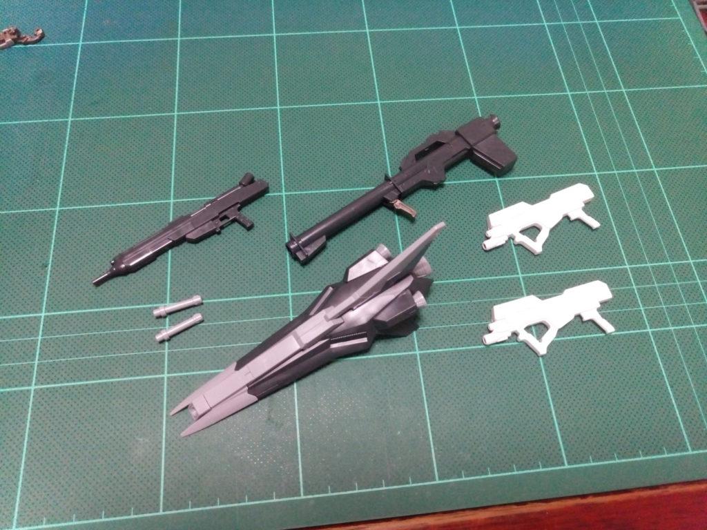 HGBF 1/144 RX-93ν-2I Hi-νガンダムインフラックス [Hi-ν Gundam Influx] セット内容
