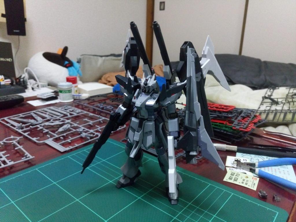 HGBF 1/144 RX-93ν-2I Hi-νガンダムインフラックス [Hi-ν Gundam Influx] 正面