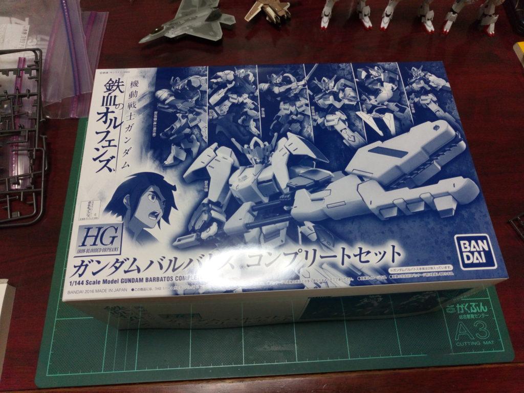 HG 1/144 ASW-G-08 ガンダムバルバトス コンプリートセット [Gundam Barbatos Complete Set] パッケージ