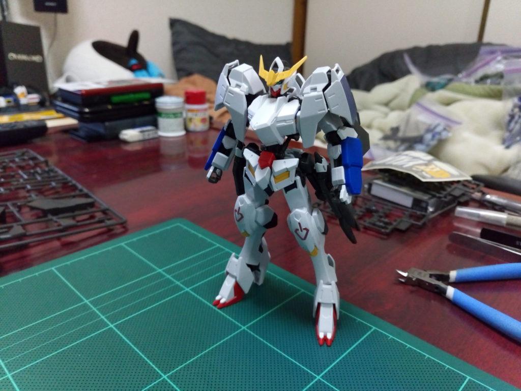 HG 1/144 ASW-G-08 ガンダムバルバトス コンプリートセット [Gundam Barbatos Complete Set] 背面