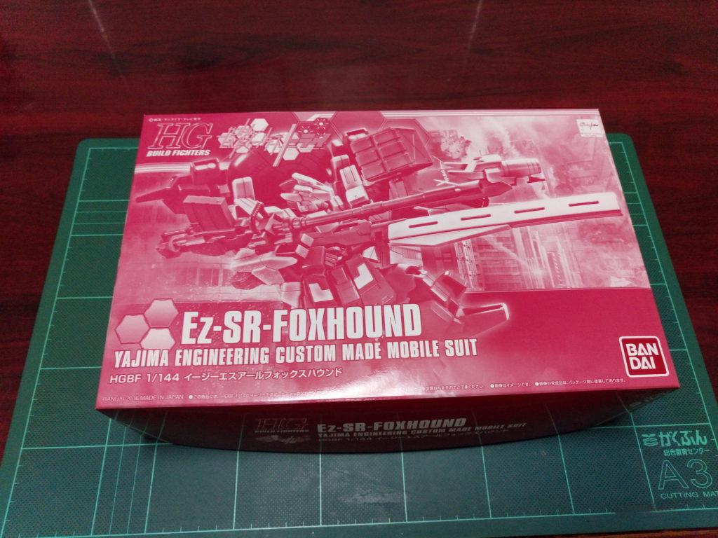 HGBF 1/144 YZ-R28-SR[FH] Ez-SRフォックスハウンド [Ez-SR-FOXHOUND] パッケージ