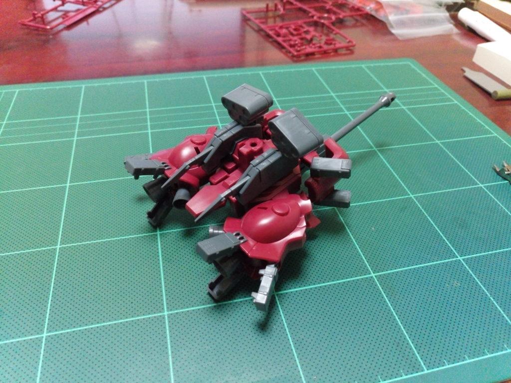 HGBC 1/144 アメイジングブースター [Amazing Booster] 背面
