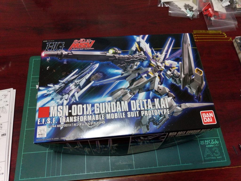 HGUC 1/144 MSN-001X ガンダムデルタカイ [Gundam Delta Kai] パッケージ