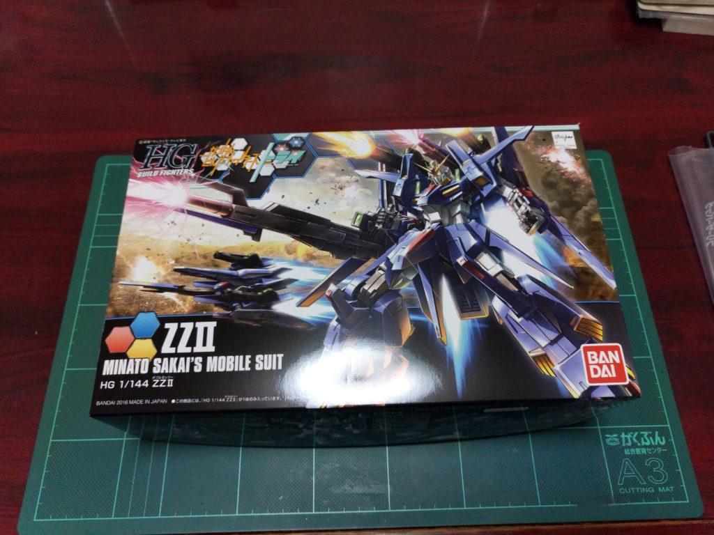 HGBF 1/144 MSZ-008X2 ZZII(ダブルゼッツー) パッケージ