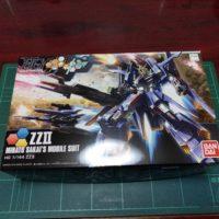 HGBF 1/144 MSZ-008X2 ZZII(ダブルゼッツー)
