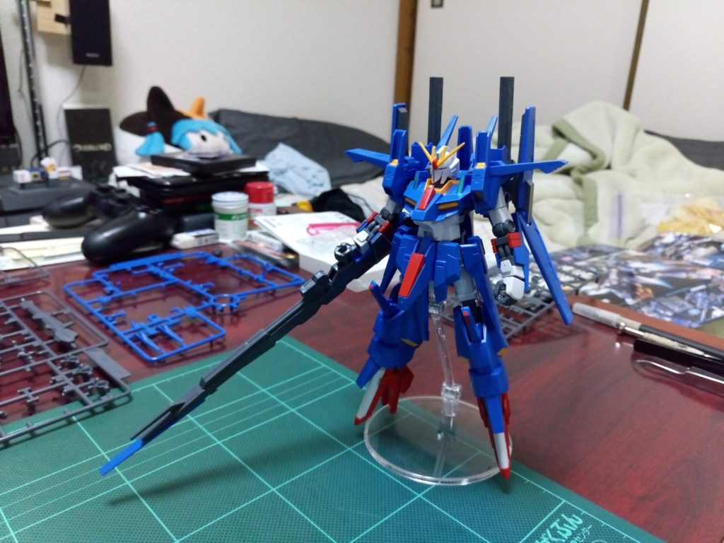 HGBF 1/144 MSZ-008X2 ZZII(ダブルゼッツー) 正面