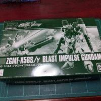 HGCE 1/144 ZGMF-X56S/γ ブラストインパルスガンダム [Blast Impulse Gundam] 4549660100416
