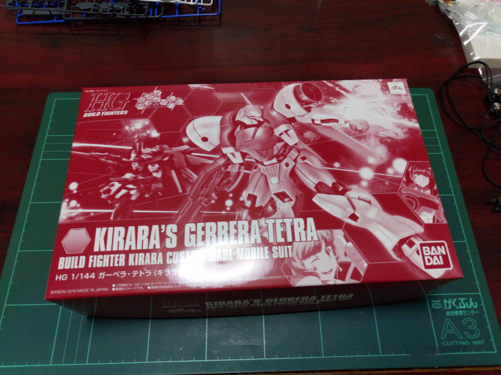 HGBF 1/144 AGX-04 ガーベラ・テトラ(キララ専用機) パッケージ