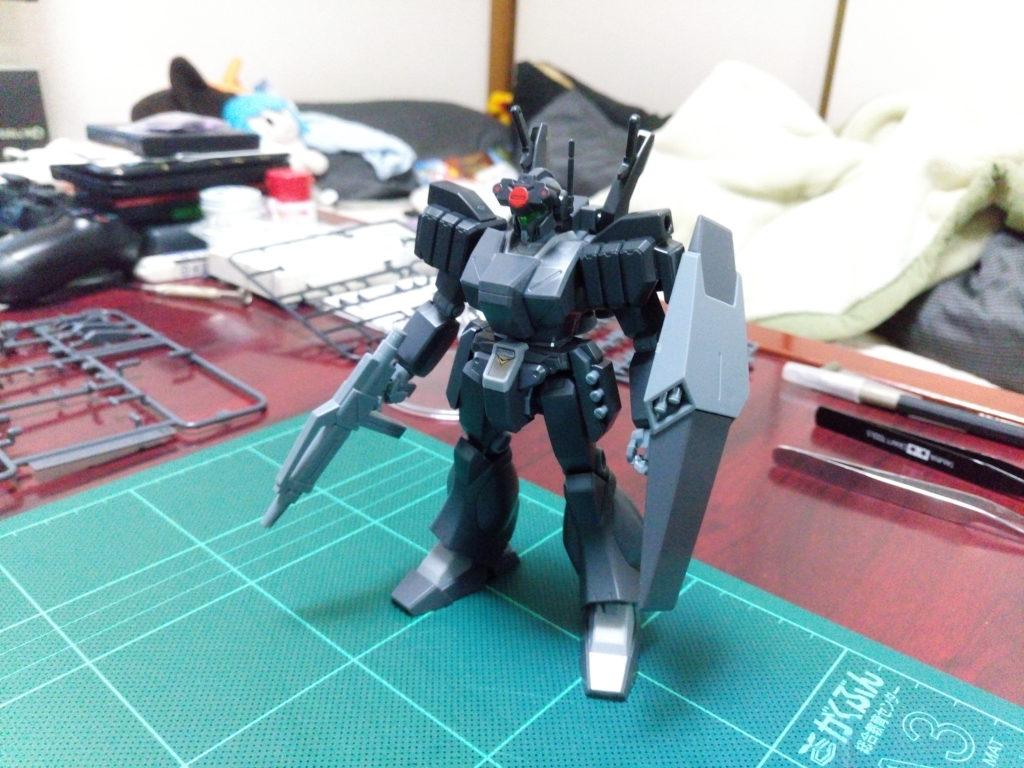 HGBF 1/144 RGM-89GF ゴーストジェガンF 正面
