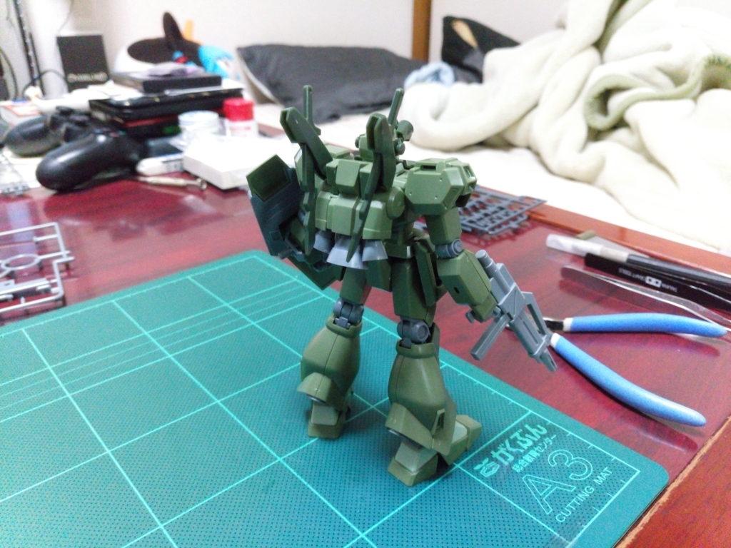 HGBF 1/144 RGM-89GM ゴーストジェガンM [Ghost Jegan M] 背面
