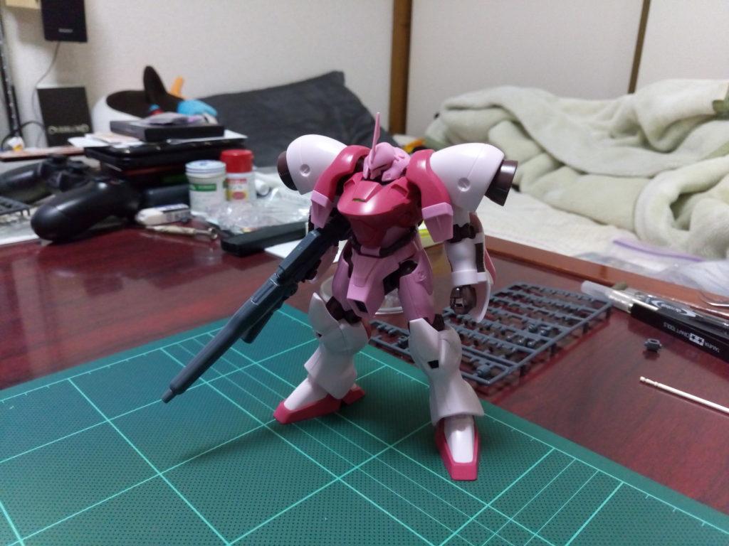 HGBF 1/144 AGX-04 ガーベラ・テトラ(キララ専用機) 正面