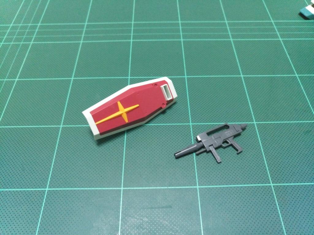 HGUC 1/144 RGM-86R ジムIII [GM III] セット内容