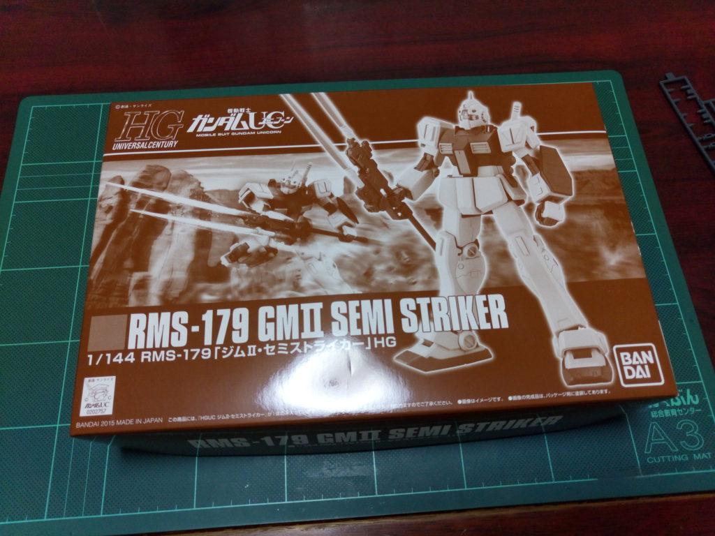 HGUC 1/144 RMS-179 ジムII・セミストライカー パッケージ