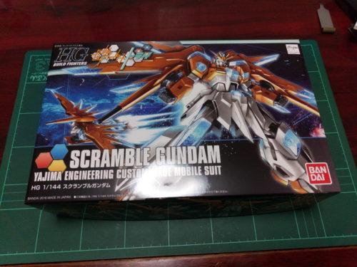 HGBF 1/144 BN-876 スクランブルガンダム [Scramble Gundam]