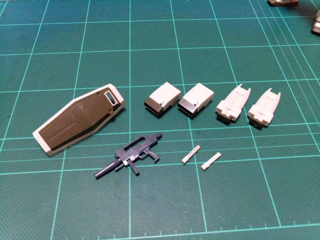 HGUC 1/144 RGM-86R ジムIII(ユニコーンデザートカラーVer.) セット内容