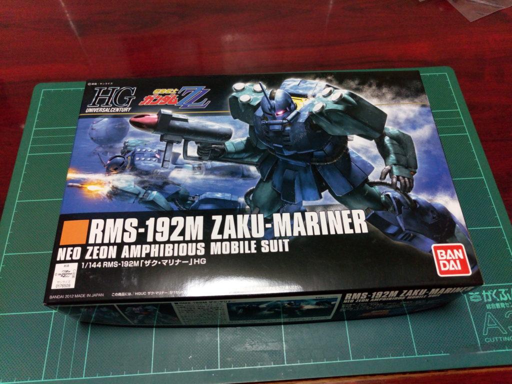 HGUC 1/144 RMS-192M ザク・マリナー [Zaku Mariner] パッケージ