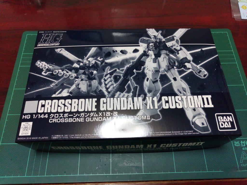 HGUC 1/144 XM-X1 クロスボーン・ガンダムX1改・改(スカルハート)[Crossbone Gundam X1 Custom II] パッケージ